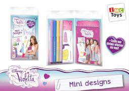 Disney's Violetta - Mini-Skizzenblock inkl. Stift