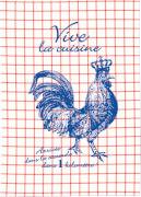 Geschirrtuch im Glas Vive la cuisine  Eine kleine Freude
