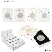 Schutzengelmünze in kleiner Box