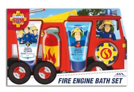 Feuerwehrmann Sam Geschenkset Duschgel,Badefizzer u.Bad