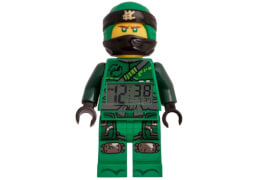 LEGO Ninjago Movie Lloyd Minifiguren clock
