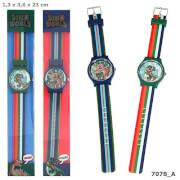 Depesche 7078 Dino World Silikon-Armbanduhr