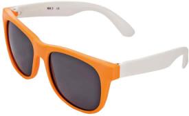 Sonnenbrille orange-weiß (1)
