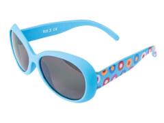Flex Sonnenbrille hellblau Hippie