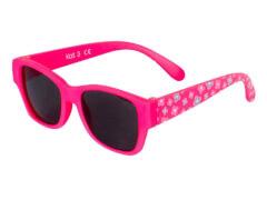 Flex Sonnenbrille pink mit Blumen