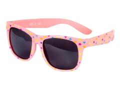 Flex Sonnenbrille rosa mit Herzen