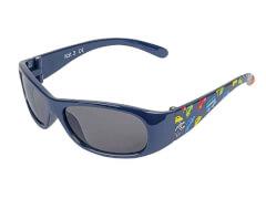 Sonnenbrille navy mit Autos