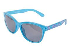 Sonnenbrille hellblau mit Schmetterlingen