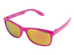 Sonnenbrille verspiegelt pink