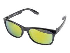 Sonnenbrille verspiegelt matt schwarz