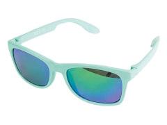 Sonnenbrille verspiegelt grün