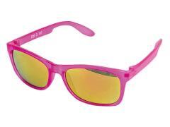 Sonnenbrille verspiegelt fuchsia