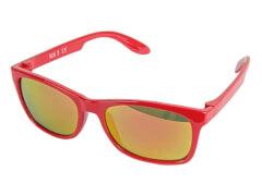 Sonnenbrille verspiegelt rot