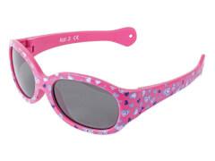 Flex Sonnenbrille pink mit Herzen