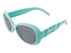 Flex Sonnenbrille türkis mit Print