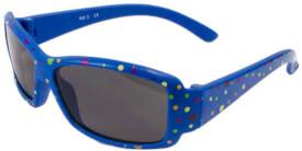 Flex Sobri. blau mit bunten Punkten