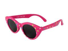 Flex Sonnenbrille pink gepunktet