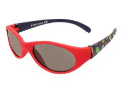 Flex Sonnenbrille rot Fußball