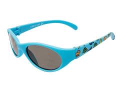 Flex Sonnenbrille blau mit Print