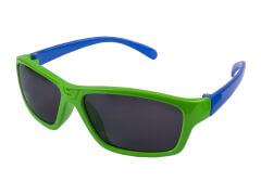 Sonnenbrille neongün/blau