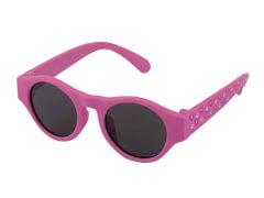 Sonnenbrille FL rosa Blumen
