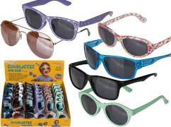 Kinder Sonnenbrille für 4 bis 7 Jahre, 6-fach sortiert