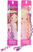 Depesche 6529 My Style Princess bunte Haarsträhnen mit Clip