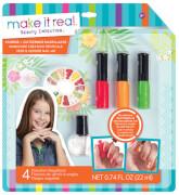 Paint & Sparkle Nail Art: Graphic Jungle