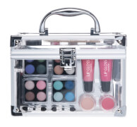 Alu Kosmetikkoffer mit Klarsicht-Seiten