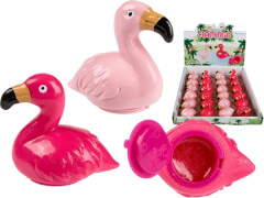 Lipgloss, Flamingo, ca. 1,5 g, 2-farbig sortiert