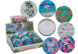 Flamingo Taschenspiegel