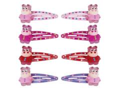 CC-Clip mit Nilpferd 4 Farben 4 cm