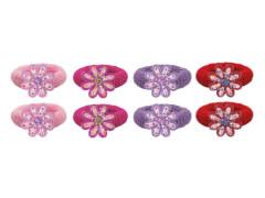 Haargummi Blume 4 Farben