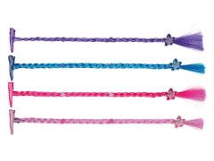 Hair Clip Extension mit Blumen 4 Farben
