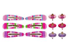Set CC-Clip und Haargummi mit Fee 3 Farben