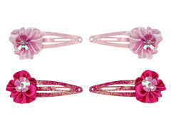 CC-Clip mit Blume 2 Farben 4 cm