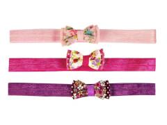 Haarband mit Schleife 3 Farben