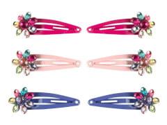CC-Clip  mit  Blume 3 Farben 5 cm