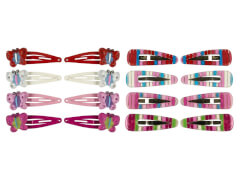 Set CC-Clips + Clips Butterfly 4 Farben