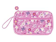 bb Klostermann Kosmetiktasche Blütenmeer, rosa