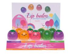 Lipgloss Frucht, farblich sortiert