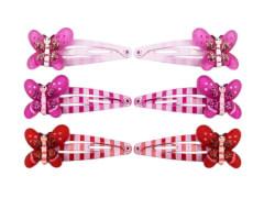 CC-Clip mit Schmetterling 4 cm 3 Farben