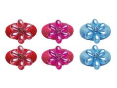 Haargummi mit Blume (6)