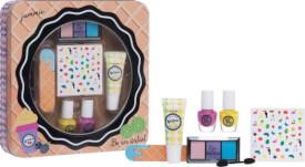 Casuelle Kosmetik, Eis Set in Blechdose mit Fenster, 19,5 x 19,5 x 4 cm