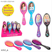 Depesche 6757 TOPModel Haarbürste mit Sprüchen, beduftet