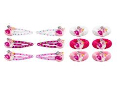 Set HG+CC-Clips Vogel, 4cm, 3 Farben