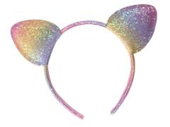 Haarreif m. Ohren multicolor
