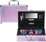 Kosmetikkoffer rosa marmoriert