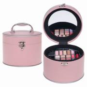 Kosmetikkoffer rund rosa 22tlg.