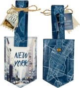Kofferanhänger New York  Reisezeit